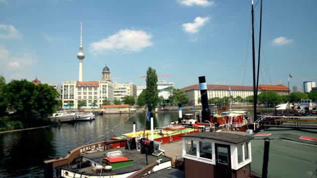 Berlin Skyline with Old Harbor video