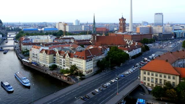 PAN T/L Berlin Skyline mit Fernsehturm Berlin – Video