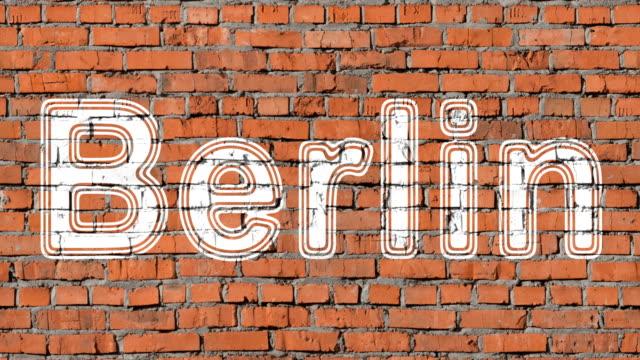 vídeos de stock e filmes b-roll de berlin - berlin wall