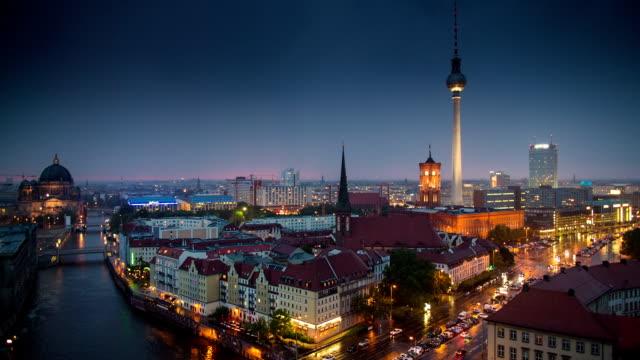 berlin - berlin city bildbanksvideor och videomaterial från bakom kulisserna