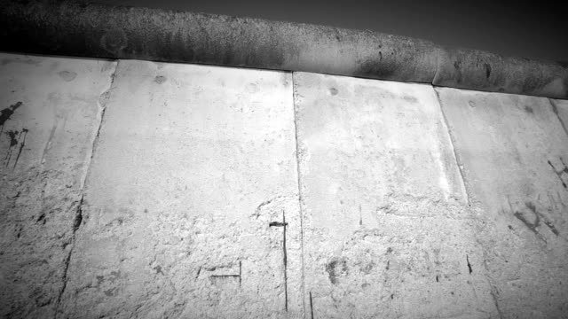 Berlin Wall, camera pan video