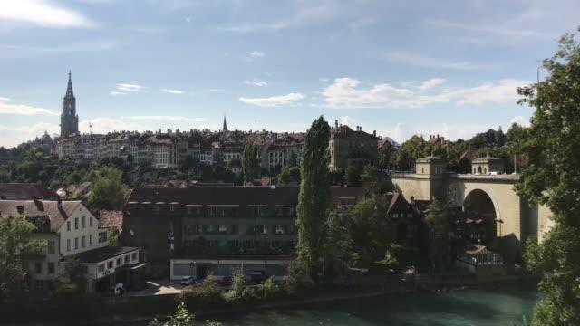 stadt bern in der schweiz - kanton bern stock-videos und b-roll-filmmaterial