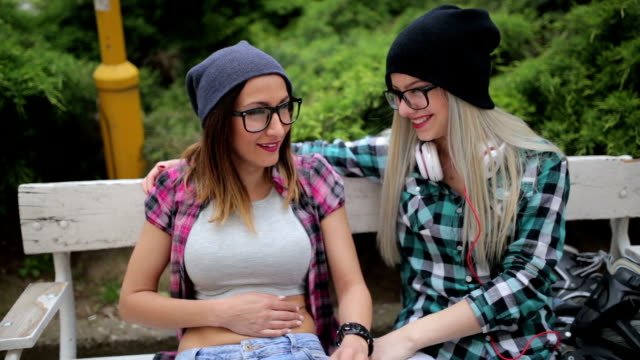 best friends having fun - hipster stock videos and b-roll footage