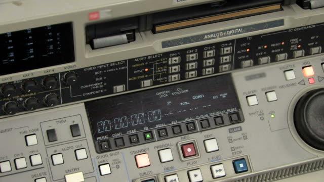 betacam registratore/lettore - registratore video stock e b–roll