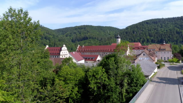 Beuron Archabbey in the Upper Danube Valley