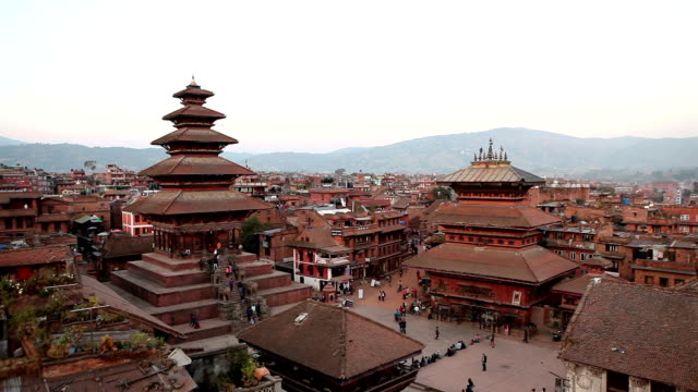 Bhaktapur Durbar Square video