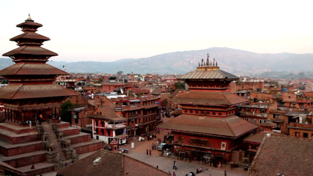 Bhaktapur Durbar Square video