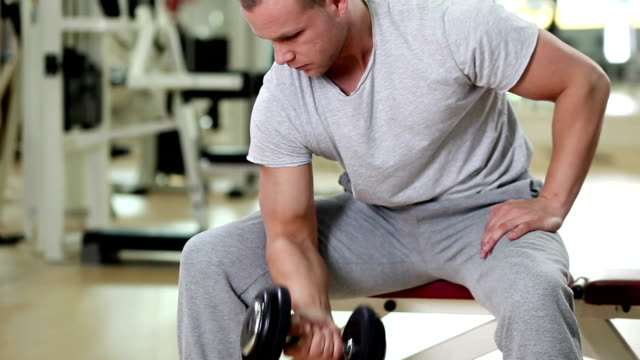 Bicep curls video