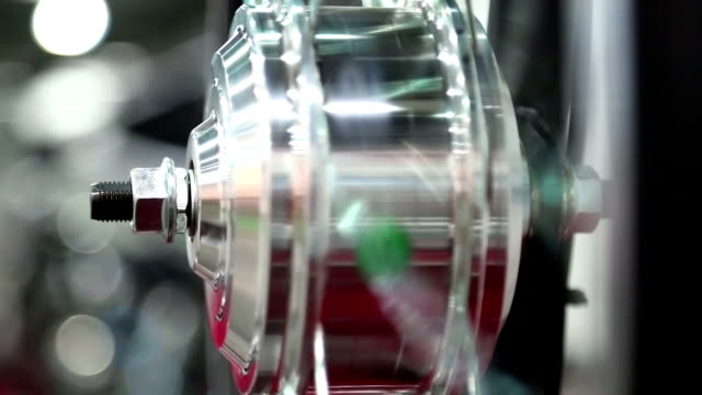 Bicycle electric wheel video