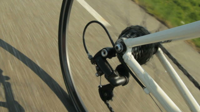 Bicycle gears moving video