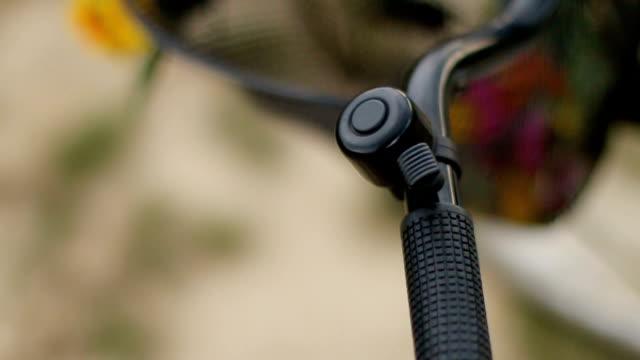 Bicycle handle Bicycle handle handlebar stock videos & royalty-free footage