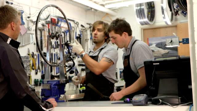 Bicycle workshop video