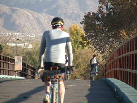 NTSC: Bicyclists video