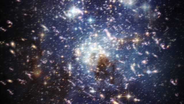 big bang creation universe singularity space science physics galaxy god 4k - big bang video stock e b–roll