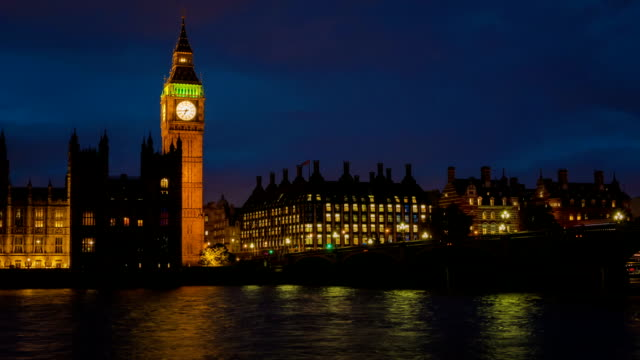 Big Ben Evening Timelapse video