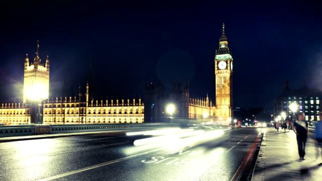 Big Ben London time lapse video