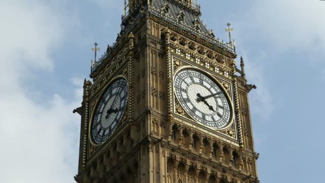 Big Ben Spinning Clock Face Time Lapse video
