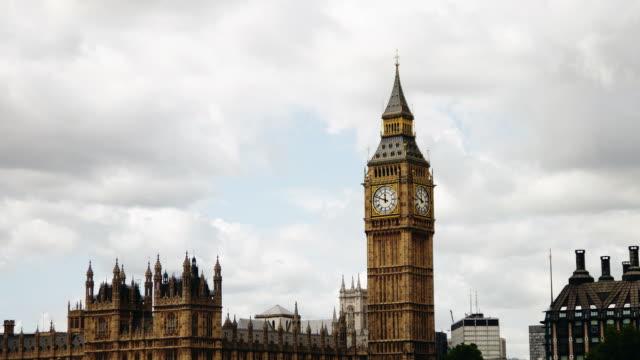 Big Ben time-lapse. London video
