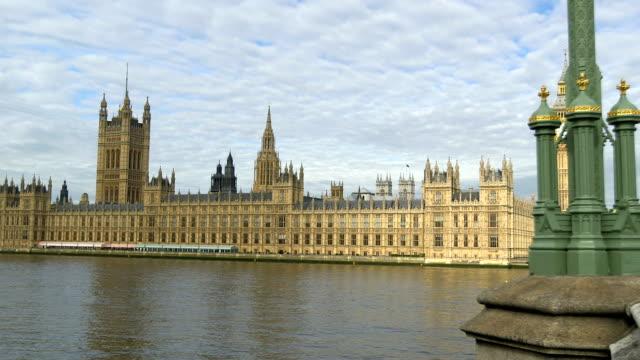 Big Ben Track maisons du Parlement Tamise - Vidéo