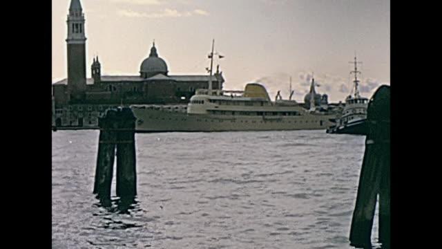 big boats Venice