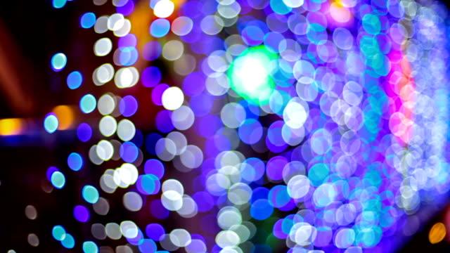 grandi luci bokeh l sfondo - soft focus video stock e b–roll