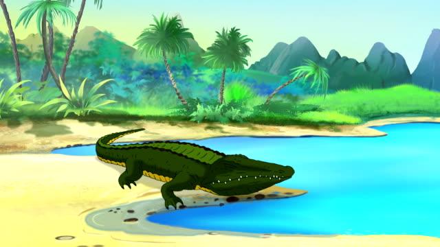 Big Crocodile Open Mouth video