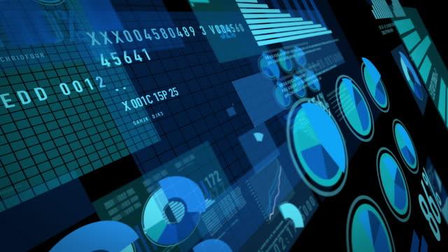 大きなデータ社会 [ループ] - 科学研究点の映像素材/bロール