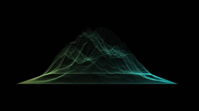 Big data visualization. Machine learning algorithms. Analysis of information. Visual data infographics design.