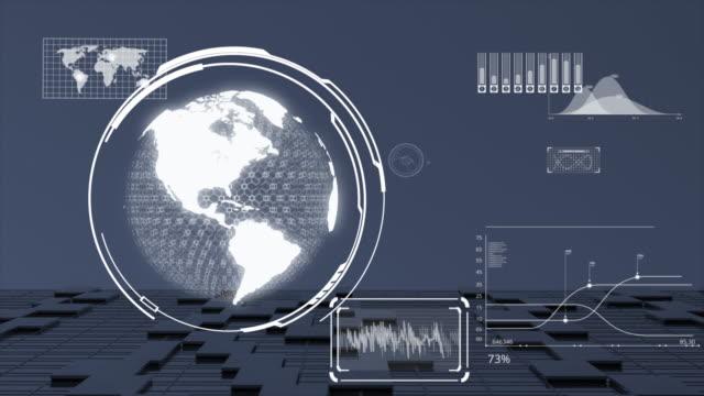 Big data visualization with digital Earth.