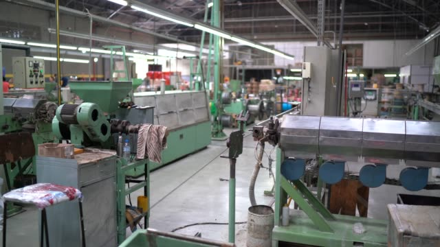 Big factory and production line