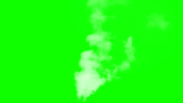 Big Flying White Smoke Alpha Channel. White vapor or smoke slowly rises upwards gradually dissolving. Excellent for simulating smoking pipes. For example, geysers, steam locomotives or steamers, etc. steam stock videos & royalty-free footage