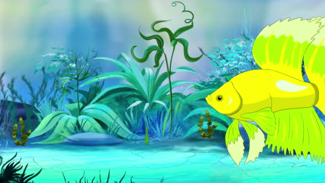 264 Fish Tank Cartoon Stock Videos And Royalty Free Footage Istock
