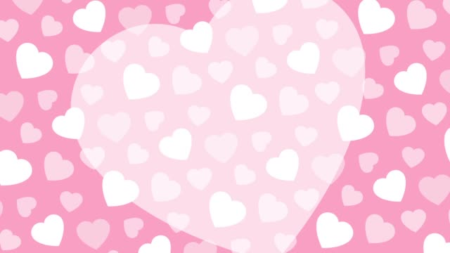 Big heart with background heart pattern This is a movie of big heart with background heart pattern jp201806 stock videos & royalty-free footage