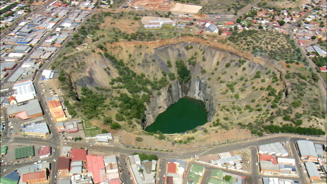 Big Hole  - Aerial View -,  South Africa video