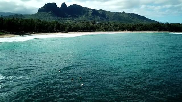Big Mountain Beyond Small Cove on Maui Island video