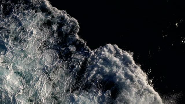 Big Ocean Swells in a Stormy Sea