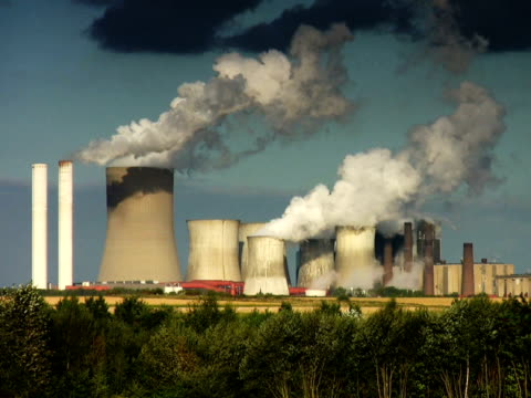 pal: grande potenza impianto - attrezzatura energetica video stock e b–roll