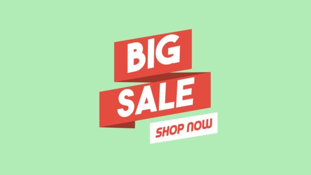 Big sale promotional advertisement