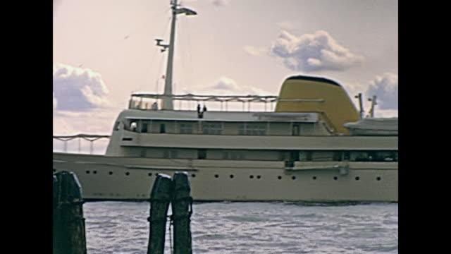 big steamboat in Venice