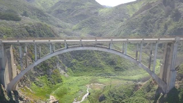 Big Sur California Aerial Footage Coast video