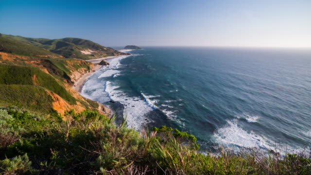 Big Sur Coastline in California, USA video