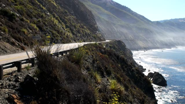big sur morning mist video