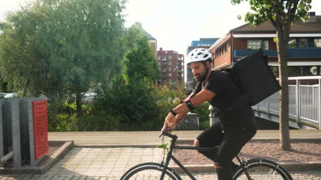 自行車交付 - food delivery 個影片檔及 b 捲影像