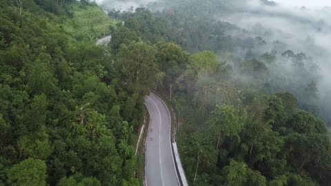 bike ride road trip at rural area ulu langat with 2 sportswoman athlete rider in the morning drone view bike ride road trip at rural area ulu langat with 2 sportswoman athlete rider in the morning endurance stock videos & royalty-free footage
