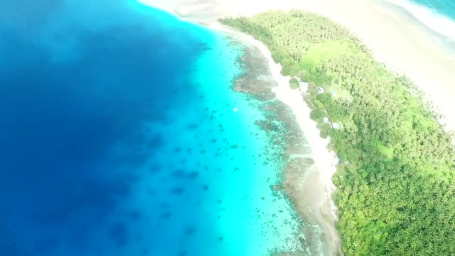 bikendrik island resort in majuro, marshall islands - majuro video stock e b–roll