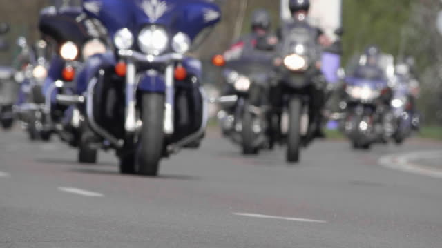 4K - Bikers on the road