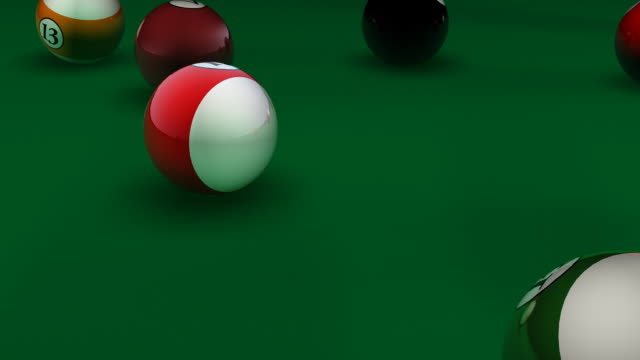 Billiard, Pool Break