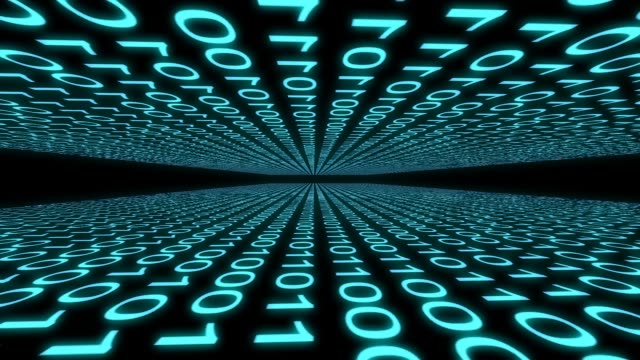 binary code computer data cyberspace graphic animation computer digital binary code Internet cyberspace graphic animation that can be used for various tech situations or as backgrounds for other graphics or titles. animal markings stock videos & royalty-free footage