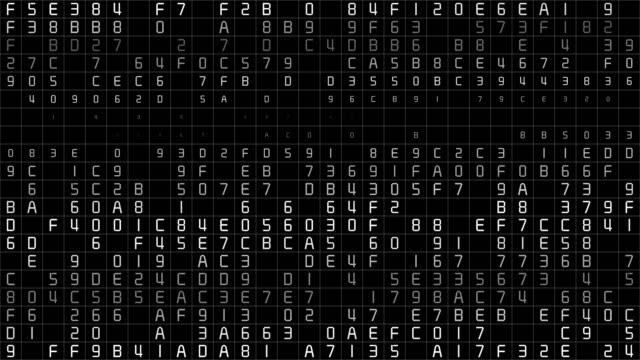 Binary Code Data Transfer, AI, Cloud Computing