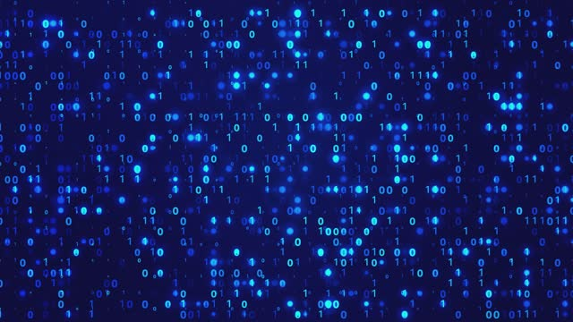 4K Binary Code - Loopable - Stock video stock video Password, Security System , Binary Code, Data, Key antivirus software stock videos & royalty-free footage